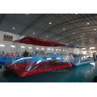 Flame Retardant Waterproof Inflatable Bubble Tent For Car Body Cover 2 Years Warranty Manufactures