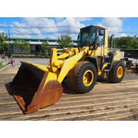 Quality Original Paint Second Hand Wheel Loaders , Komatsu Wheel Loader WA380-3 187.7 Hp for sale