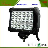 72 Watt 7 Inch Four-Row LED off-Road Light Bar for 4X4 Vehicle Manufactures