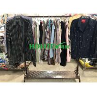 Mixed Color Mens Used Clothing Cotton Material Used Mens Shirts Long Sleeves Manufactures