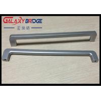 Silver ABS Plastic Handle Slender And Long Ice Box Door Handles / Recliner Closet  Pulls 288mm Manufactures