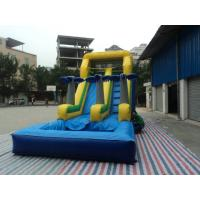 Quality Durable PVC Tarpaulin Inflatable Sports Games , Slide Funny With 8L x 8W x 4H for sale