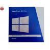 Microsoft Office Microsoft Windows 8.1 Software Retail Box 100 Genuine For Desktop / Laptop Manufactures