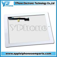original and new 9.7 Inches Cell Phone Front Glass For Apple Ipad 4 Manufactures