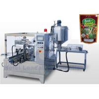 10ml - 1000ml Premade Bag Filling Machine For Emulsifiable Pesticide / Liquid Insecticide Manufactures