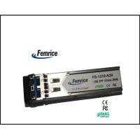 1.25Gbps FC 1310nm Single-mode Dual LC 20km SFP Module Manufactures