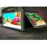 Outdoor LED Billboard Truck , LED Video Display Truck With Left / Right / 3 Sided Manufactures