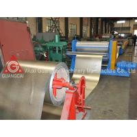 China Galvalume Plate / Aluminum Cold Roll Forming Machine Metal Sheet Rolling Machinery on sale