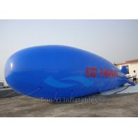 Quality Customized Logo Inflatable Advertising Blimp Shaped Balloons Heat Sealing for sale