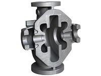 CNC Machining 450 500 Grade Ductile Cast Iron Valve Parts Manufactures