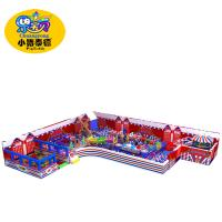 Kids Commercial Indoor Playground Equipment Safe For Shopping Centers Manufactures