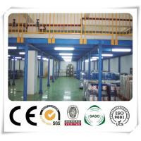 Durable Cold Formed Steel Sections Warehouse Storage Steel Platform Racking Manufactures