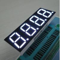 White 4 Digit 7 Segment LED Display For Induction Cooker , Low Current Operation Manufactures