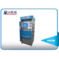 High Brightness Card Dispenser Kiosk With ID Card Scan Issuing For Hotel Check In Manufactures
