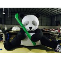 PVC Tarpaulin Inflatable Advertising Products Panda Figurines Black And White Manufactures
