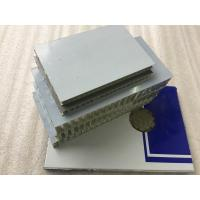 Quality Lightweight Aluminum Honeycomb Core Panels High Strength For Rail Construction for sale
