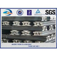 Heavy Plain Steel Crane Rail With Precision rolling Raw material Manufactures