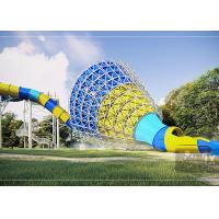 Medium Tornado Water Slide / Commercial Extreme Water Slides For Gigantic Aquatic Park Manufactures
