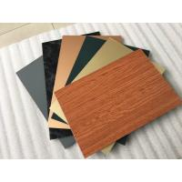 Smooth Surface Facade Aluminium Composite Panel For Wall Cladding Decoration Manufactures