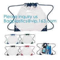 Promotional Transparent PVC Clear Drawstring Backpack Bags,Promotional Hot Selling Waterproof Transparent PVC Backpack D Manufactures