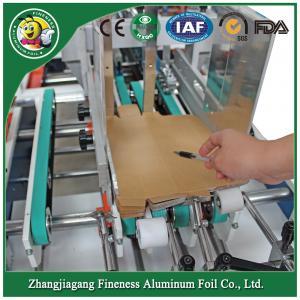 china top quality useful aluminum foil folder gluer for box machine Manufactures