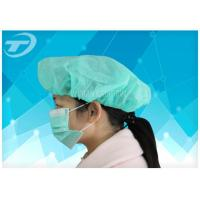 """Quality Medical Disposable PP non-woven bouffant round cap 21"""" /24"""" for sale"""