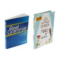 Custom Size Textbook Printing Services , Paperback Book Printing Case Bound Binding Manufactures