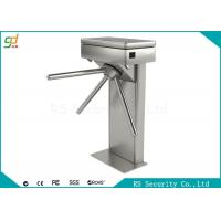Single Core 304 Stainless Steel Waist Height Turnstile IR Sensor Barrier Manufactures
