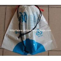 Quality Children Toy Drawstring Plastic Bags / Customizable Drawstring Bags for sale