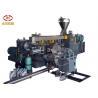 PVC Cable Material Pellet Extruder Machine , PVC Pelletizing Line Low Noise Manufactures