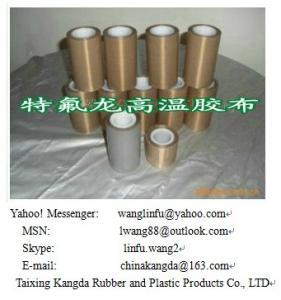 Teflon ptfe adhesive fiberglass tape Manufactures