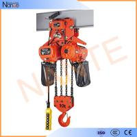 High Efficient 25 Ton / 40 Ton Electric Chain Hoist With Motorized Trolley Manufactures