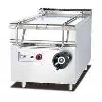 80L Capacity Gas Tilting Braising Pan Restaurant Kitchen Equipment 800*900*940mm Manufactures