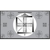 3nh TE117 A REFLECTANCE HDTV cameras UNIVERSAL TEST CHART 16:9 for testing 4:3 cameras Manufactures