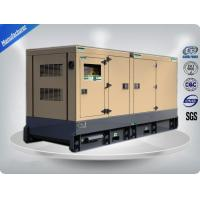 100-200 kw Genset Silent Generator Set Brushless With 24V DC Electric Starting Manufactures