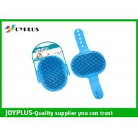 Hand Held Rubber Pet Brush Dog Grooming Brush Multi Function PC0350 Manufactures