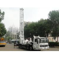 China BZC350ACZ Truck Mounted Water Well Drilling Rig Depth 300M Drilling Hole Diameter 500MM on sale
