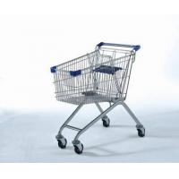 China YLD-012-4 107L European Metal Shopping Trolley on sale