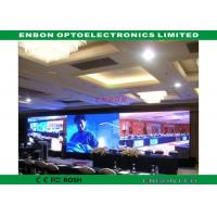 China Advertising video indoor LED display screen HD with Linsn control system on sale