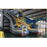 The  chameleon inflatable bouncy castle with slide inflatable dinasour amusement park Manufactures