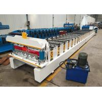 Galvanized Corrugated Iron Sheet Making Machine With 14 Roller Station Manufactures
