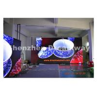 Clear Video Big LED Screen Hire / Indoor LED Display Rental 576 by 576 mm Cabinet Manufactures