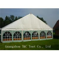 Long Span Custom Trade Show Tent Displays Tear Resistant 15 Years Warranty Manufactures