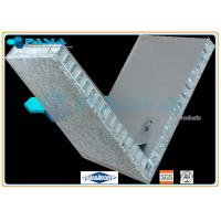 V Shape Marble Stone Honeycomb Panels For Outdoor Stone Cladding Module Manufactures