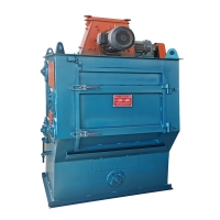 Loading 800 Kg Tumble Belt Shot Blasting Machine For Small Workpieces Cleaning Manufactures