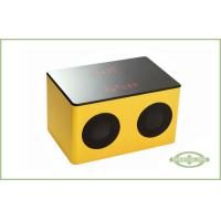 Touch Sensor Portable Wood Speaker With Rechargeable Battery Manufactures