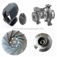 cast iron casting water pump spare parts ISO9001 / BV with polishing, sand blasting Manufactures