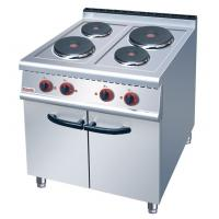 JUSTA Electric 4-Plate Range Burner Cooking Range With Cabinet Western Manufactures
