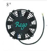 Straight Blade Universal Radiator Cooling Fan , 12 Volt Radiator Cooling Fans For Cars Manufactures