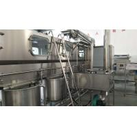 High Speed 5 Gallon Drinking Water Filling Machine , Automatic Pure Water Production Line Manufactures